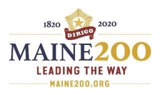 Maine 200 Logo